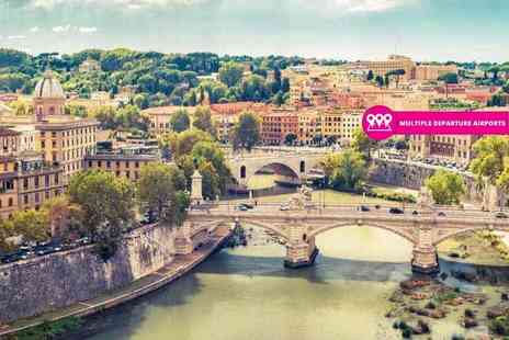 Weekender Breaks - Four or six night Rome and Venice trip with trains and return flights - Save 35%