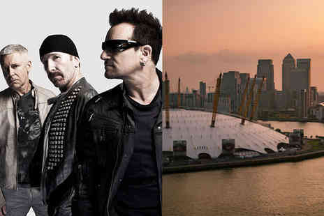 U2 Live - Four Star Must See Concert & Hotel with Iconic Views - Save 57%