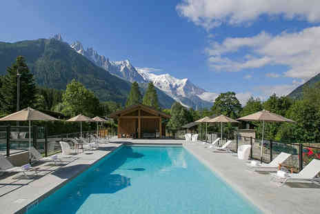 Best Western Plus Excelsior Chamonix - Four Star Panoramic Views of Mont Blanc For Two - Save 23%