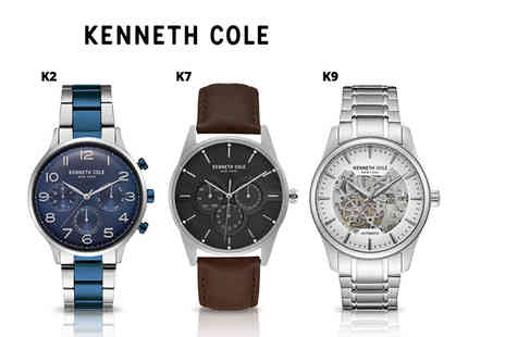 Brand Arena - Mens Kenneth Cole luxury watch - Save 70%