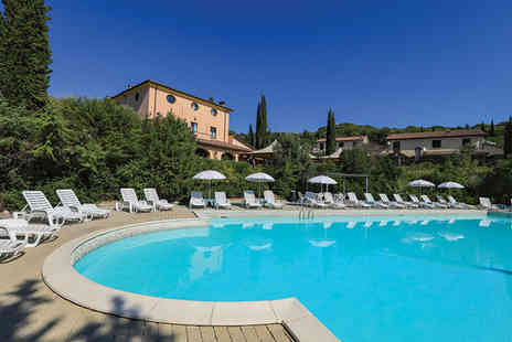 Resort San Martino & Spa - Peaceful Retreat For Two in the Tuscan Hills - Save 61%