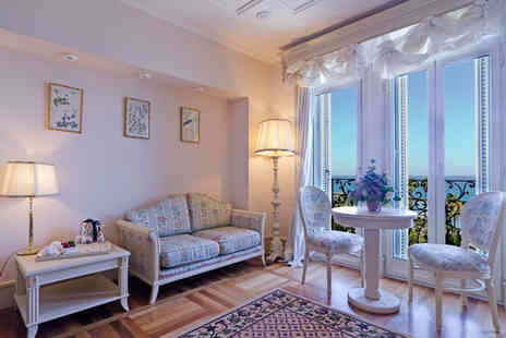 Hotel de Paris Sanremo - Four Star Seaside Splendour at Art Nouveau Hotel Stay For Two - Save 45%