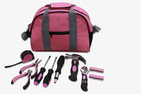 Hyfive - 25 piece pink tool kit - Save 56%