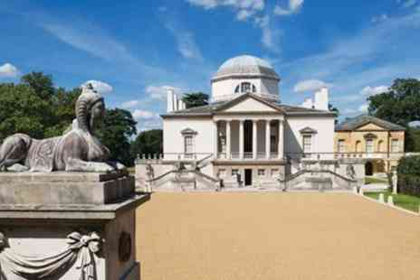The Chiswick House and Gardens Trust - Chiswick House & Gardens entry for 2 - Save 40%