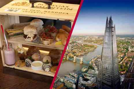 Buyagift - Entrance for two to The View from the Shard plus a champagne afternoon tea - Save 0%