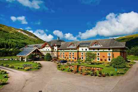 Muthu Ben Doran Hotel - One, two or three night Crianlarich stay for two people with breakfast and a glass of wine each or include a three course dinner and a bottle of Prosecco on arrival - Save 38%