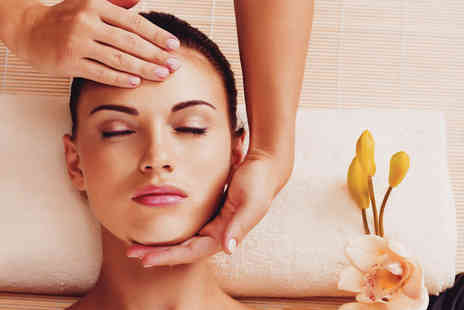 Hotep Holistic - Three treatment holistic pamper package with a glass of Prosecco or herbal tea for one person - Save 81%