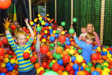 Let Loose - Two hours of soft play for two children with a pizza and drinks each - Save 74%