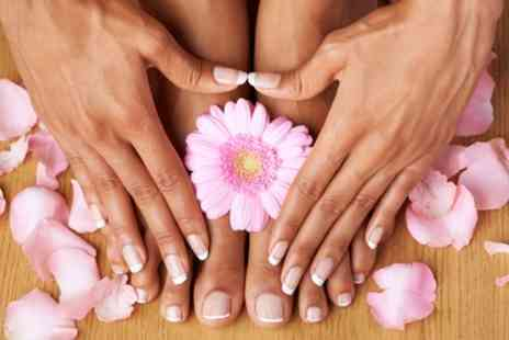 Rouge Nails and Beauty - Gel Manicure or Pedicure or Both - Save 43%