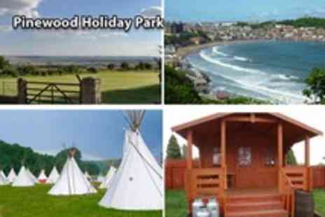Pinewood Holiday Park - Two night glamping in either a tipi or cowboy camping shack for up to 4 - Save 58%