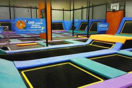 Active Tameside - Trampoline Access for Up to Four with Jug of Juice - Save 39%