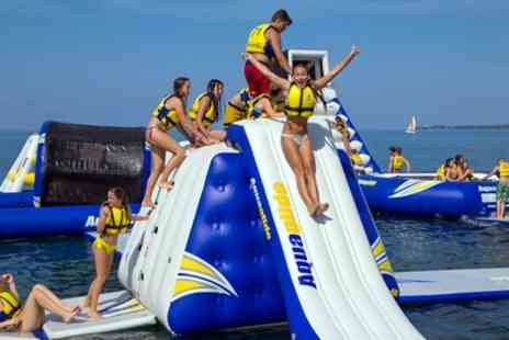 Lincolnshire Aqua Park - Aqua Park Entry with Wetsuit Hire for Up to Four - Save 25%