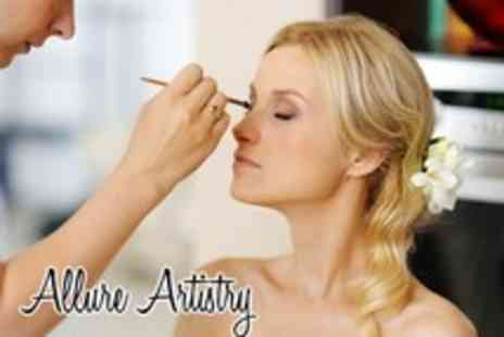 Allure Artistry - 1 day hair & make up master class incuding make up goody bag and certificate - Save 85%