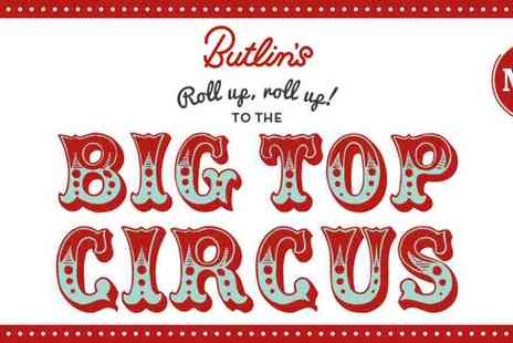 Butlins - Summer Day Passes To Butlins Bognor Regis with Big Top Circus - Save 36%