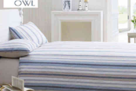 Night Owl - Night Owl Caister Double Bed Set - Save 78%
