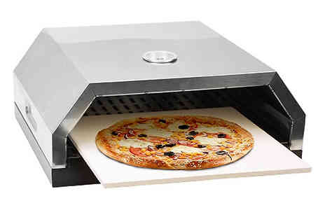 Home Season - 2 in 1 BBQ Top Pizza Oven - Save 56%