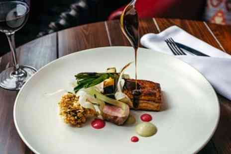 The Moonraker Hotel - Wilts Highly tempting tasting menu dinner for 2 - Save 46%