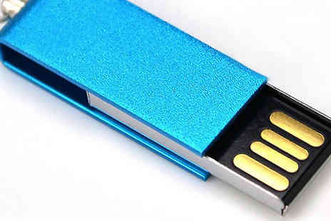 HXT Goods - 64GB Swivel USB in 8 Colours - Save 70%