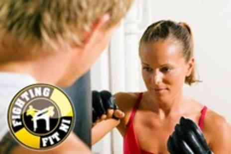 Fighting Fit NI - 16 Fitness Classes Including Yoga and Fit  Box - Save 81%