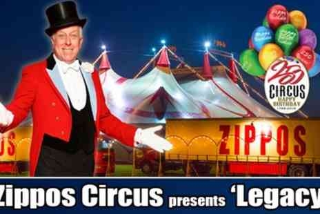 Zippos Circus - Ticket to Zippos Circus on 4 July to 6 August - Save 50%