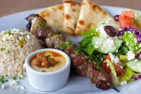 Dartford Greek Taverna - Two Course Greek Meal with Live Entertainment for Up to Six - Save 45%