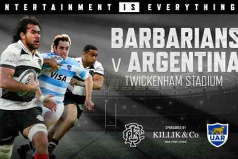 Barbarians - Child or Adult Ticket  to Barbarians v Argentina on 1 December - Save 0%