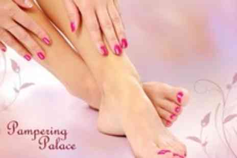 Pampering Palace - Manicure and Pedicure - Save 61%