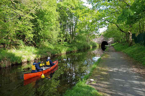 TNR Coaching - Half or full day canoe hire for two people on the Llangollen canal - Save 62%