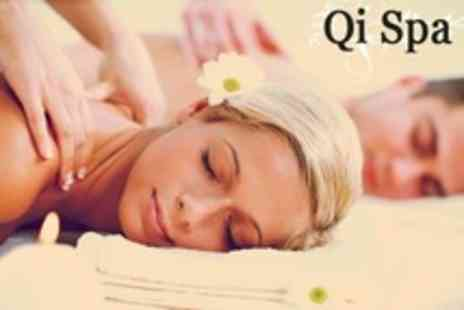 Qi Spa - Spa day for one with back, neck and shoulder massage and hydrating facial from Monday to Thursday - Save 58%