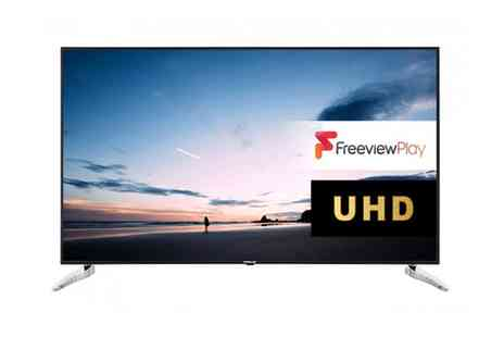 Groupon Goods Global GmbH - Finlux 65 FUC 8020 65 inch Smart TV With Free Delivery - Save 0%