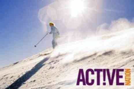 Active Nation -  One Day Beginner Course of Skiing For One - Save 79%