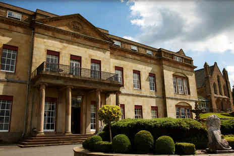 Shrigley Hall Hotel - Rejuvenation spa day for one person with two treatments and a glass of Prosecco - Save 57%