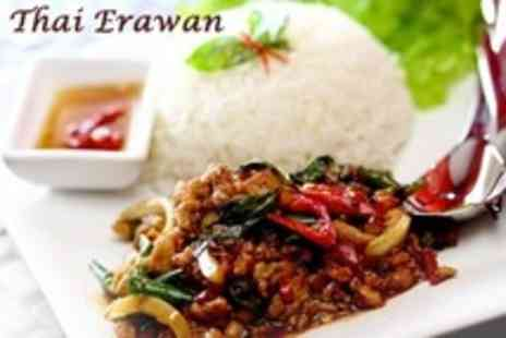 Thai Erawan - Two Course Thai Meal For Two - Save 63%