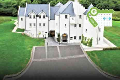 Glenskirlie House & Castle - Deluxe Double or Twin Room with Breakfast and Molton Brown Gift Bag - Save 31%