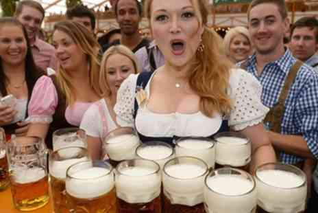 Oktoberfest - Entrance to Oktoberfest for two with half a pint of beer, bratwurst and Underberg for each on 10 To 28 October - Save 50%