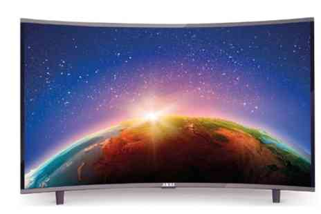 Groupon Goods Global GmbH - Akai 32 Inch CTV3226 T Smart Curved LED TV With Free Delivery - Save 0%
