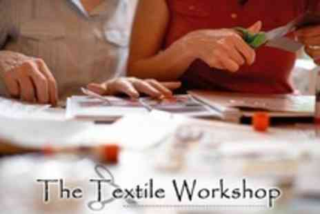 The Textile Workshop - Two Hour Workshop of Card or Scrapbook Making  - Save 73%