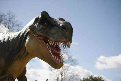 Dinosaur Encounter Heighley Gate - Family pass to Jurassic Golf - Save 51%