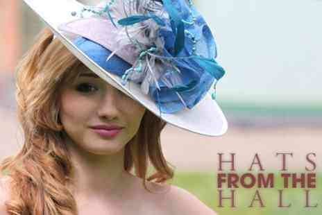 Hats from the Hall - Hat Making Workshop - Save 74%
