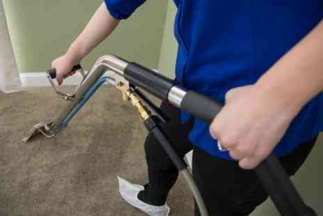 GCP Cleaning Services - Carpet Cleaning for Two Double Rooms - Save 48%
