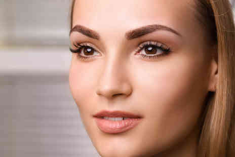 Transfique Hair and Beauty Academy - Semi permanent eyebrow microblading treatment including a top up session - Save 51%