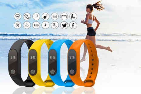 ugoagogo - 14 in 1 fitness tracker with heart rate monitor choose from six colours - Save 84%