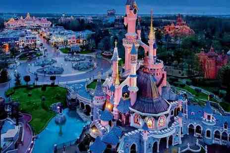 Tour Center - Two night Disneyland Paris stay, a one day two park ticket and return Eurostar - Save 26%