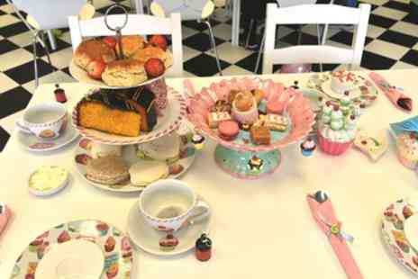 Shake It Up Uk - Afternoon Tea for Two or Four - Save 66%