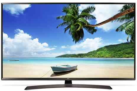 Groupon Goods Global GmbH - LG 65UJ634V 65 Inch 4K Ultra HD HDR Led Smart TV With Free Delivery - Save 0%