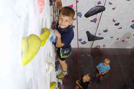 The Foundry Climbing Centre - One rock climbing session for two children or three sessions for one child - Save 50%