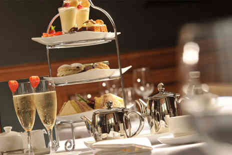 The Urban Hotel - Prosecco afternoon tea for two people and a 25 minute treatment each - Save 49%