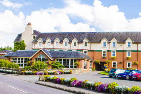Muthu Dalmally Hotel - Overnight break for two with breakfast and a glass of wine or include three course dining and a bottle of Prosecco - Save 51%