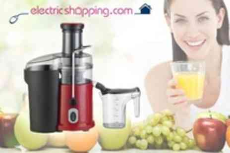 electricshopping.com - Dr Juicer Professional Fruit and Vegetable Juice Extractor for one - Save 50%
