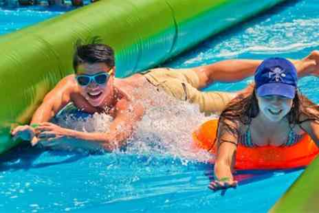 Sun Slide Events - All day adult, child or family ticket to The Sun Slider waterpark festival on 22 July in Sheffield And 5 August in London - Save 30%